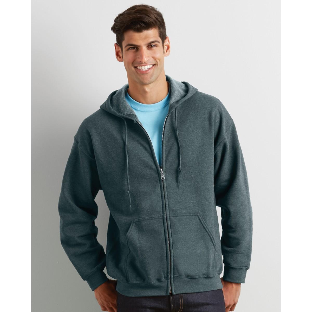 0e5de845 Gildan Heavy Zip Men's Hoodies for Promotional Clothing