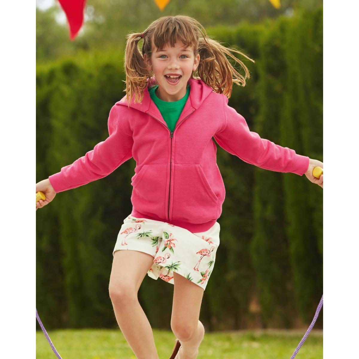 Children/'s Hooded Sweat Jacket 62045