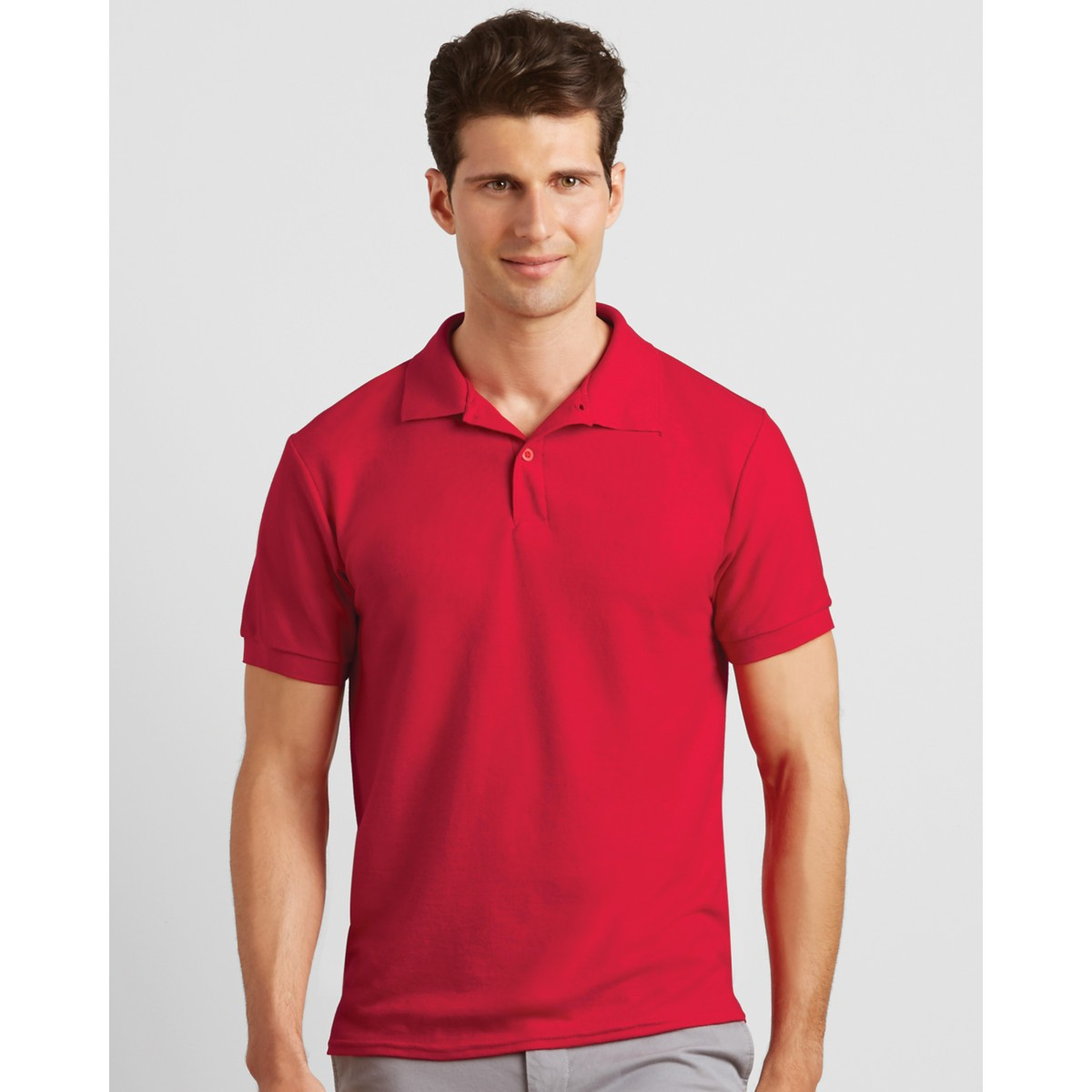 326c5eb1296 Gildan Dryblend Mens Double Pique Personalised Polo Shirts