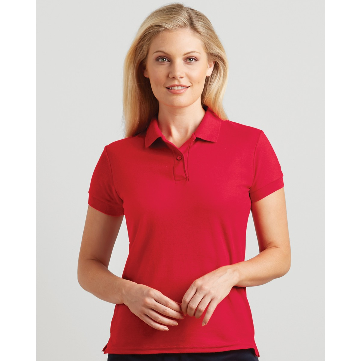 Gildan dryblend ladies 39 double piqu polo for Polo shirts for printing