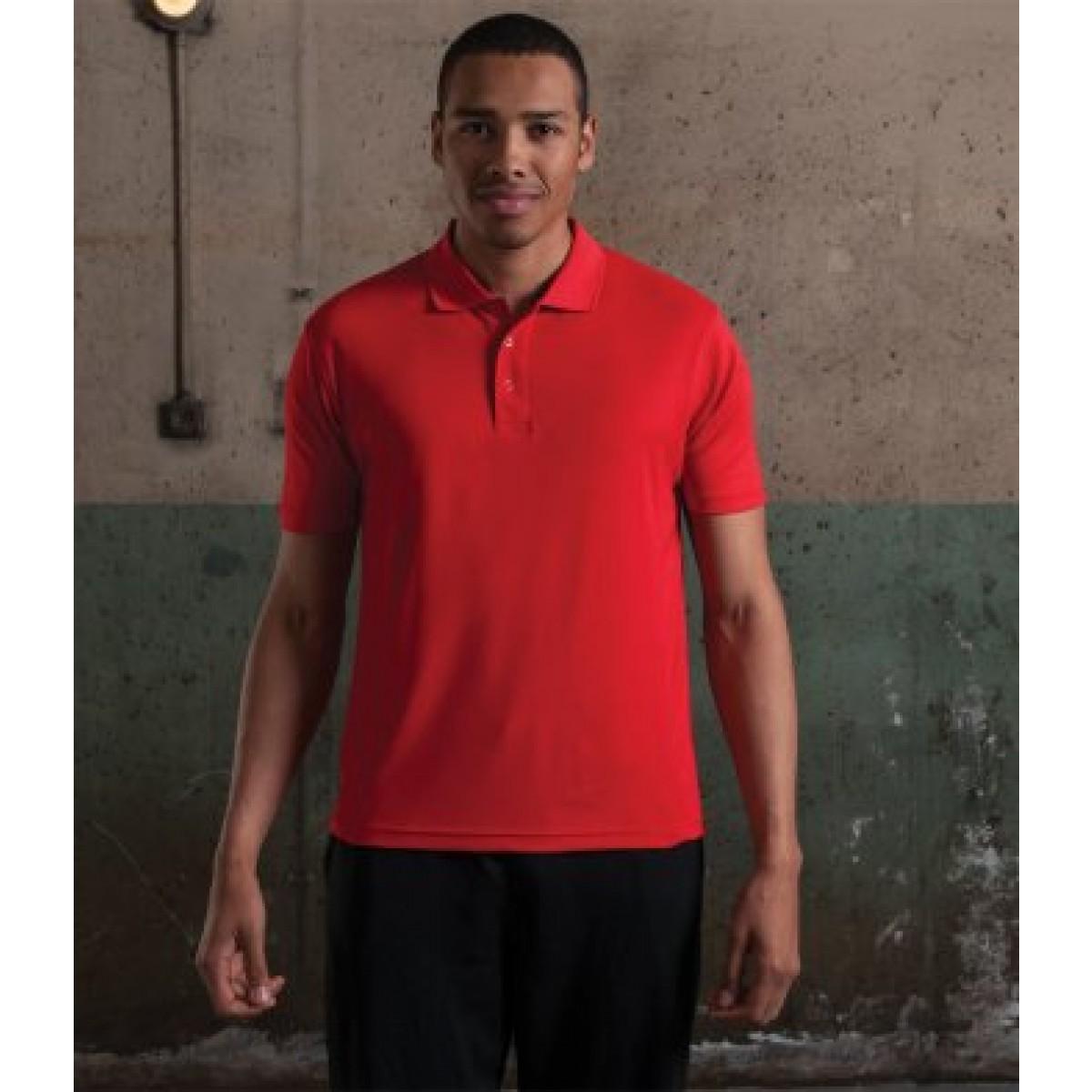 b7b5997d AWDis Custom Performance Polo Shirts for Embroidery
