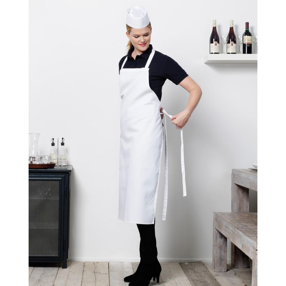 White apron edinburgh - Bistro By Jassz Bib Apron