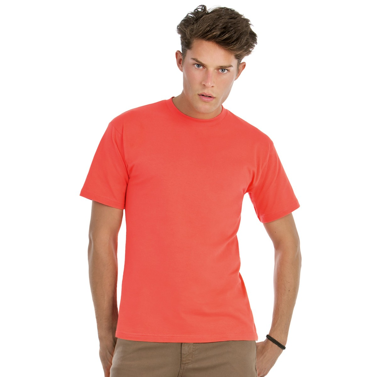 B c exact men 39 s 150 t shirt for Coral shirts for guys