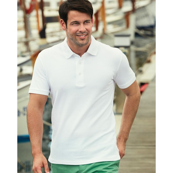 Fruit Of The Loom Heavy Personalised Polo Shirts for Embroidery