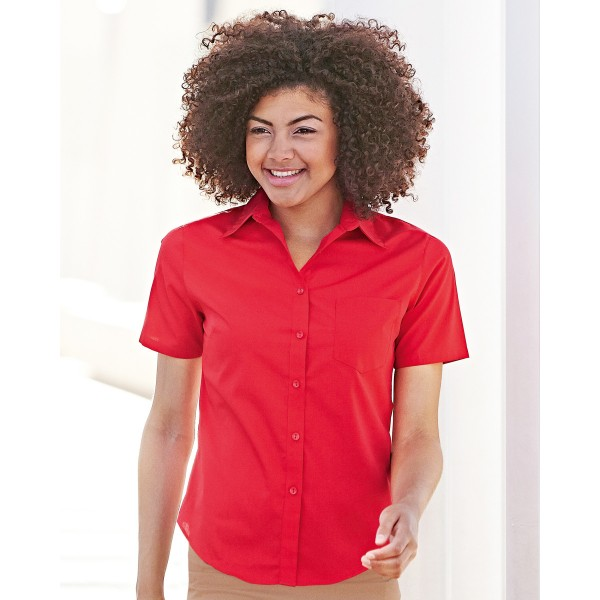 Fruit of the Loom Ladies Fitted Workwear Shirts