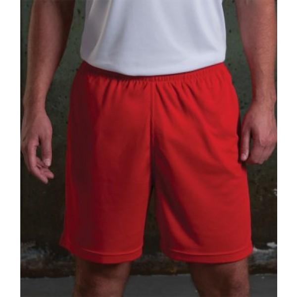 AWDis Mesh Lined Personalised Shorts