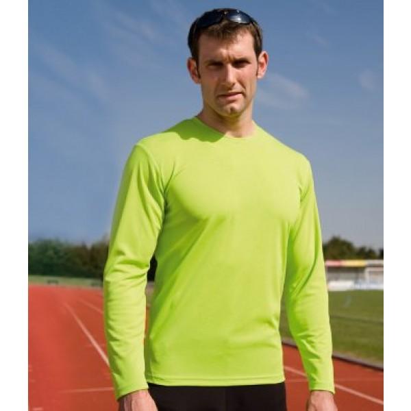 Spiro Long Sleeve Custom Performance Tops