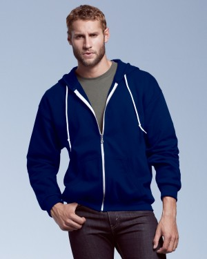 Anvil Men's Zip Personalised Hoodies