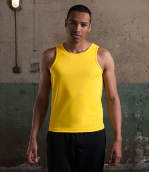 AWDis Men's Personalised Running Vests