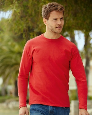 Fruit of the Loom Men's Long Sleeve T-shirts