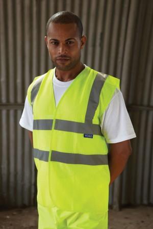 Hi-Vis Waistcoat for Personalised Workwear