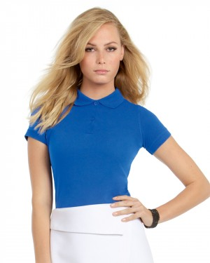 B&C Ladies Personalised Polo Shirts