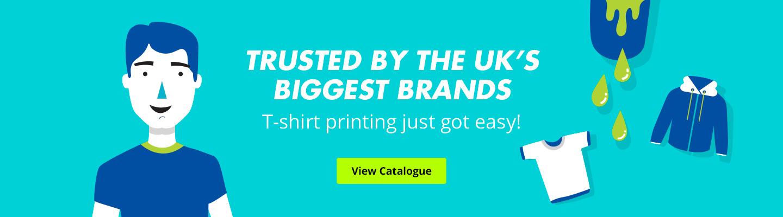Custom clothing portfolio from Printsome, promotional clothing in the UK