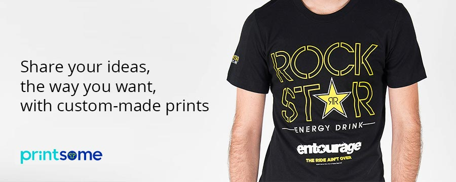 T-shirt printing London: West, Central, East, South - Printsome