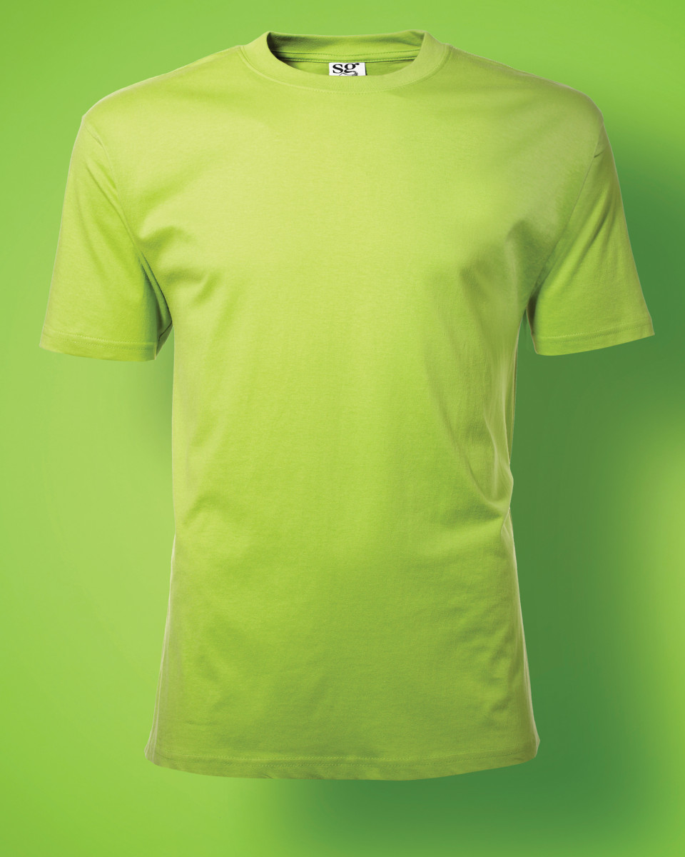 mens heavy t shirt for logo embroidery