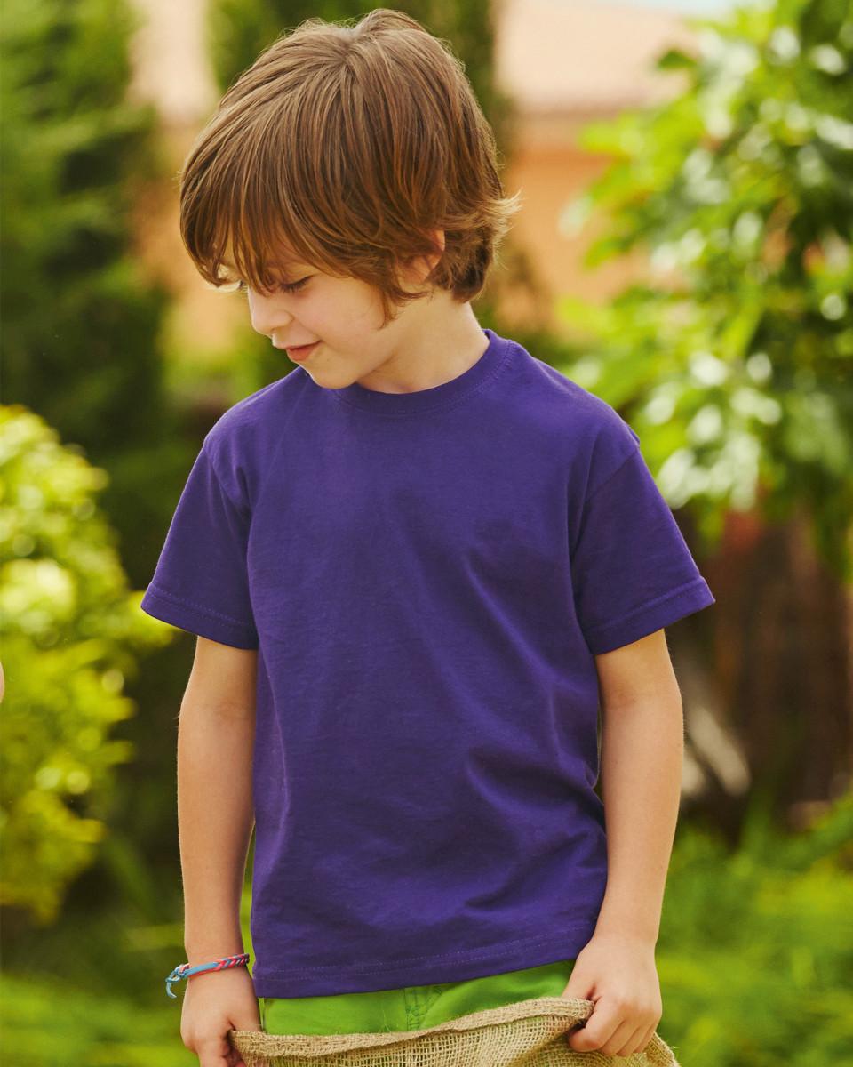Kids garment for t shirt printing